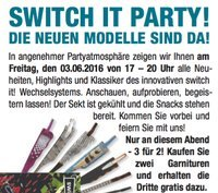 03.06. Switch it! Party - Vohwinkel
